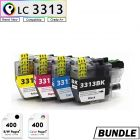 Premium compatible Brother  LC3313 XL printer ink bundle