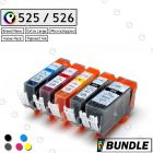 Premium compatible CANON PGI 525BK / CLI 526 ink cartridge - Value Pack