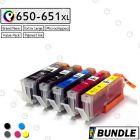 Premium compatible CANON PGI 650XL CLI 651XL ink cartridge Value Pack